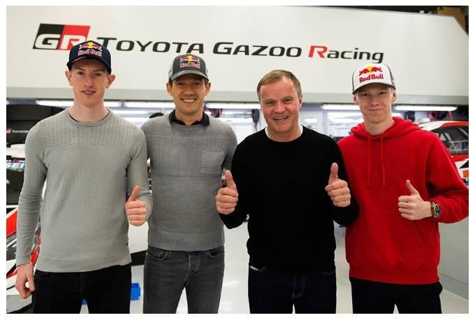 WRC: Sebastien Ogier signs at Toyota